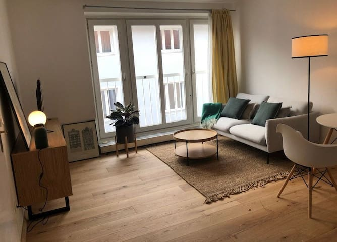 Nice and cute 2 rooms flat close to city center