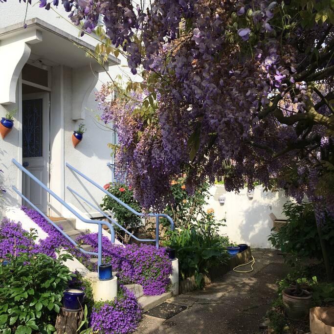 Studio ind pendant sur jardin maisons louer v lizy for Jardin a louer ile de france