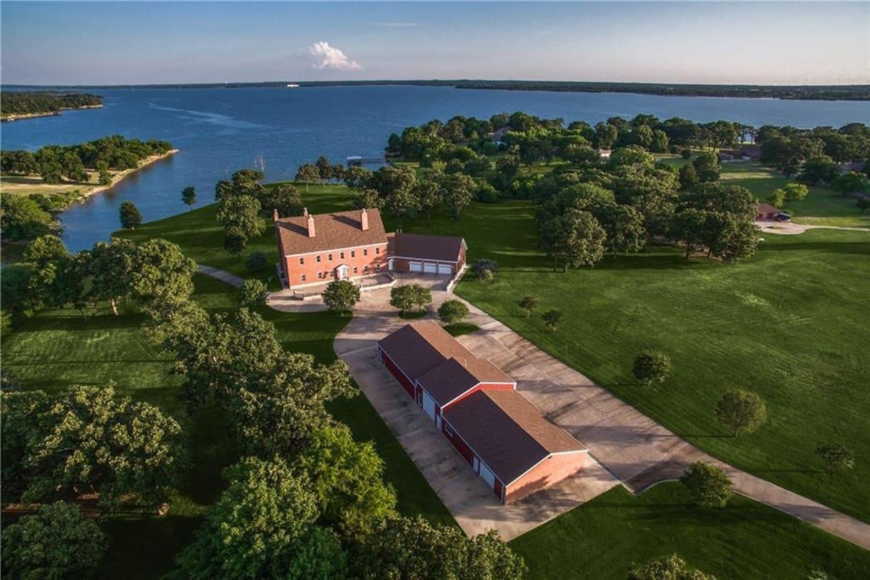 Beautiful Lake Front Property.  A wonderful view of Lake Fork.