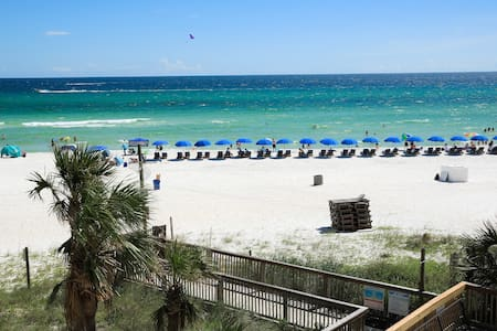 **Discounted rate-Gulf front-White sand beach!
