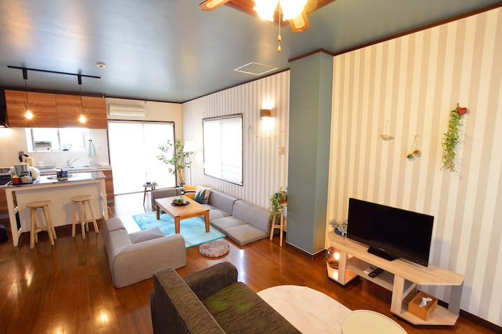 10 min from Okinawa Minami IC! Private house♪