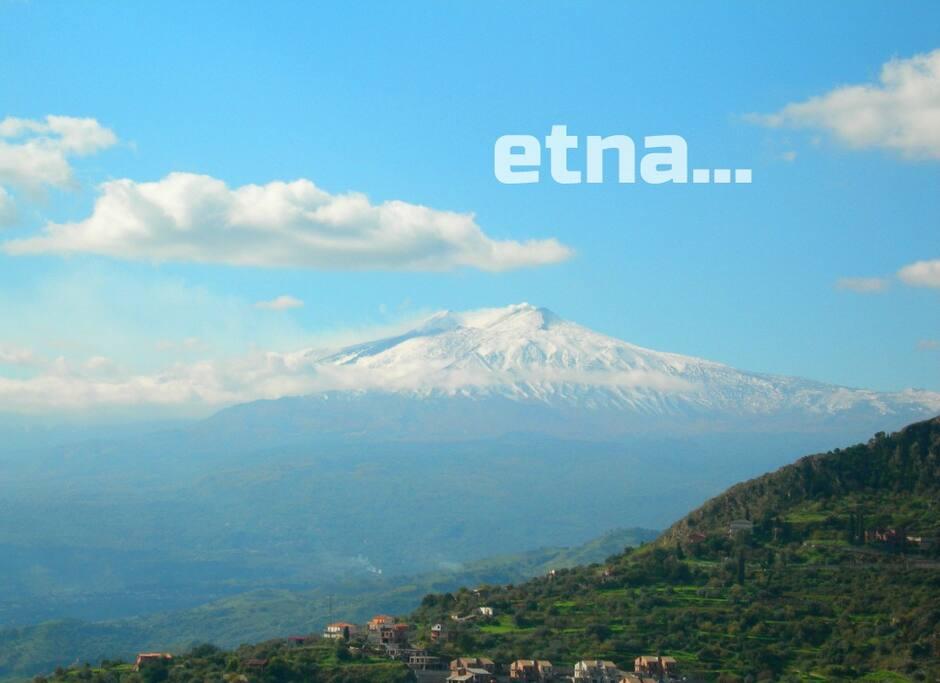 """L'Etna è raggiungibile da """"Casa e Giardino"""""""