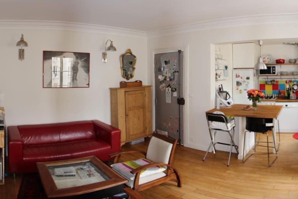 Salon + cuisine
