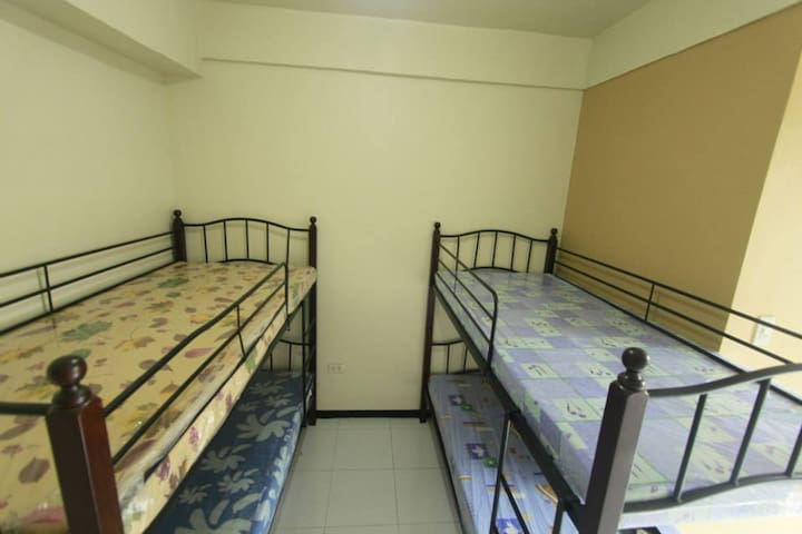 Typical bedrooms located from 2nd until 4th floor with individual toilet & bath- without aircon, only fan.