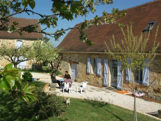 Maison Lotoise au calme proche de Gourdon - Rampoux - Huis