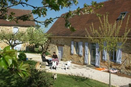 Maison Lotoise au calme proche de Gourdon - Rampoux - Hus