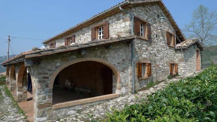 Villa nel Montefeltro