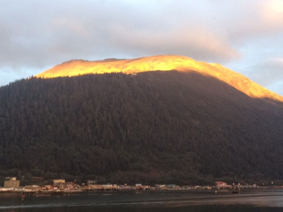Mt. Juneau view from your window