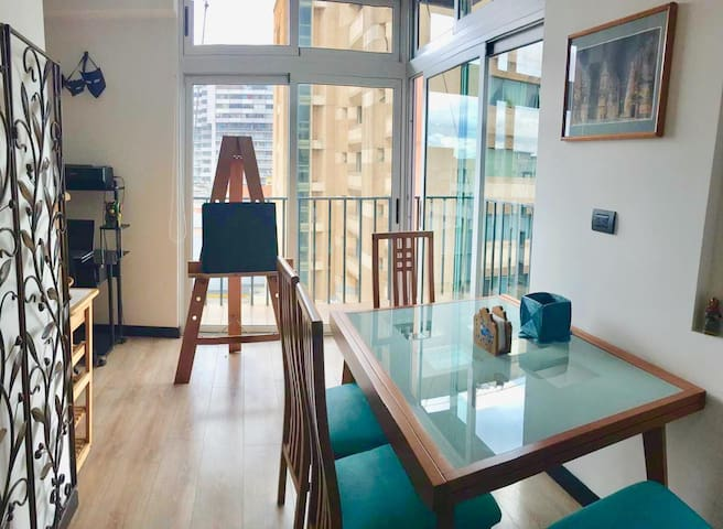 AMAZING DOWNTOWN STUDIO APARTMENT, CENTRO VIVO Z1