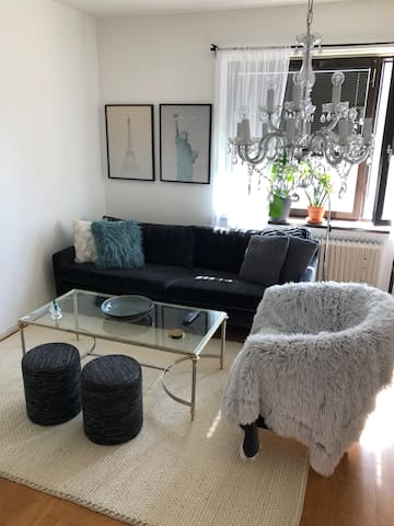 Studio apartment 10 min. to city by bus or tram