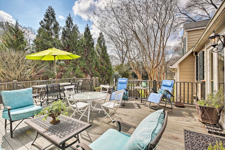 NEW! 'The Cottage in Decatur' - 9 Mi to Dwtn ATL!