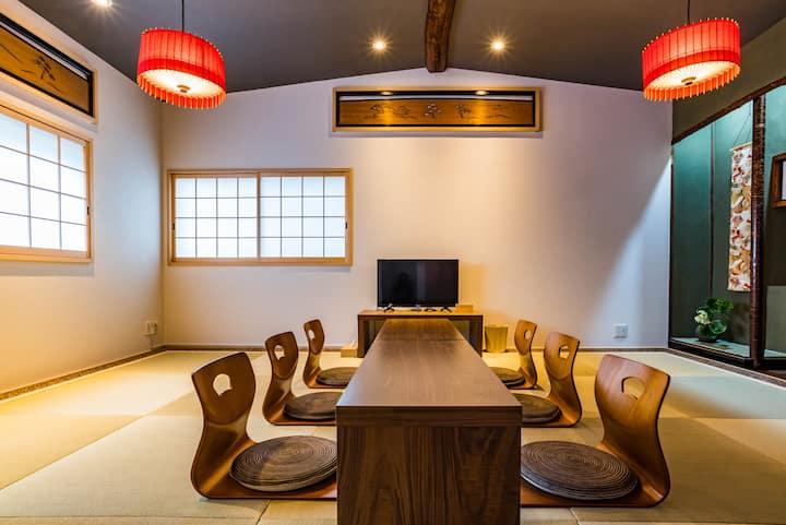 Designer house/2 mins to Namba/Bijou Suites Nagomi