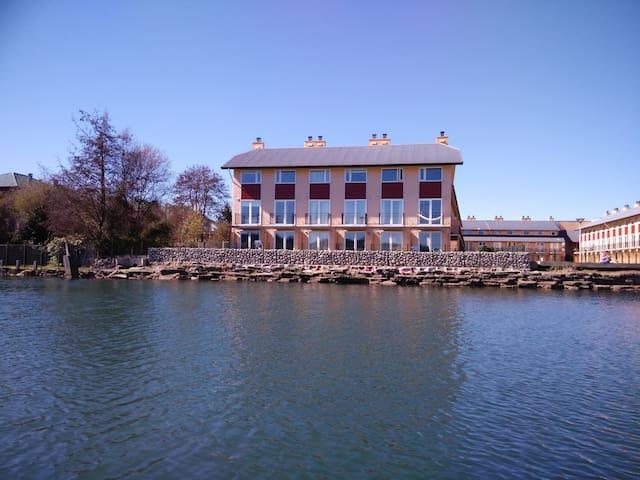 Apartamento Condominio Haverbeck con vista al río. - Valdivia - Leilighet