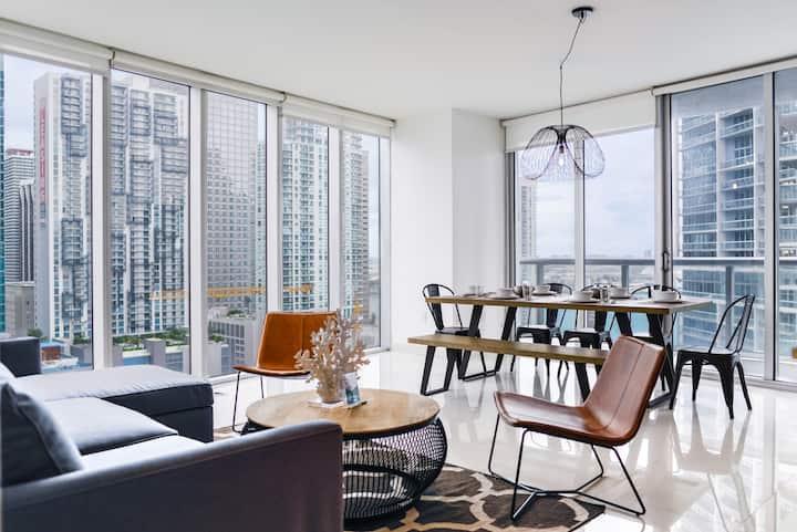 *Icon Brickell - Luxury Residence AMAZING VIEWS*