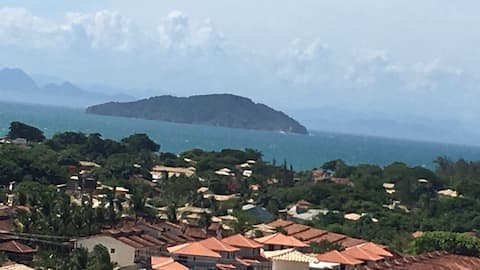 Geriba Búzios Apto completo vista ao mar