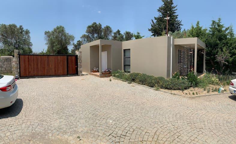Doğa içinde müstakil yaşam evi