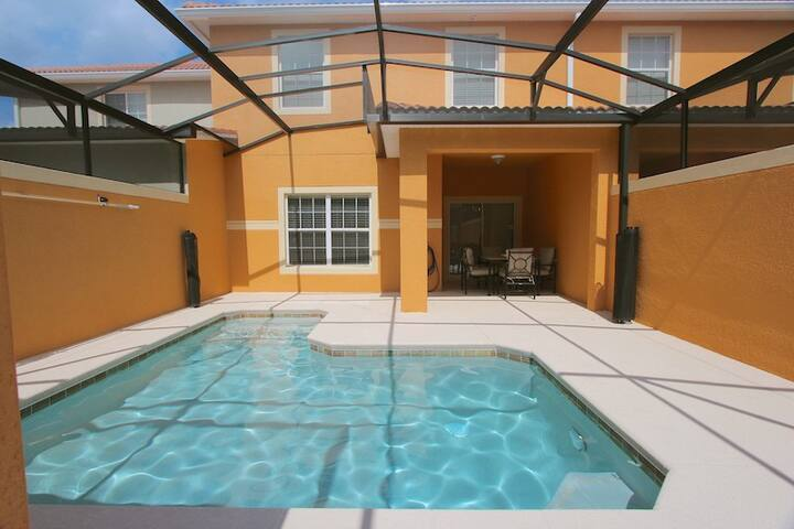 Amazing Paradise Palms-4 Beds Townhome/Splash Pool