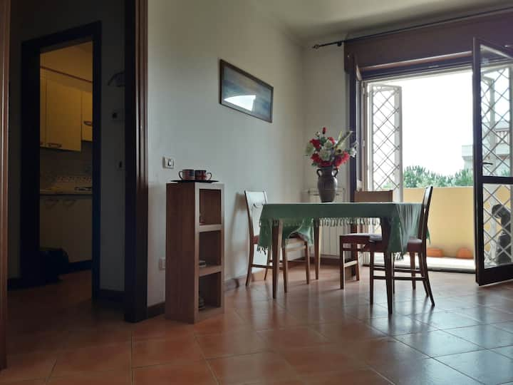 Delightful Apartment 60sqm + Private Parking Space