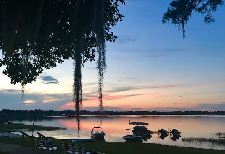 Sunsets on Lake Weir