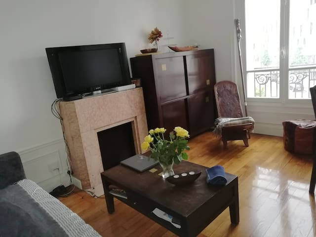 Appartement Paris 13ème Parc Monsouri