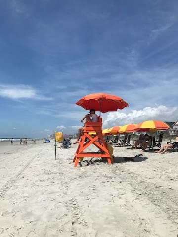 Lifeguarded beaches