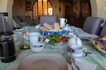 one of our breakfasts