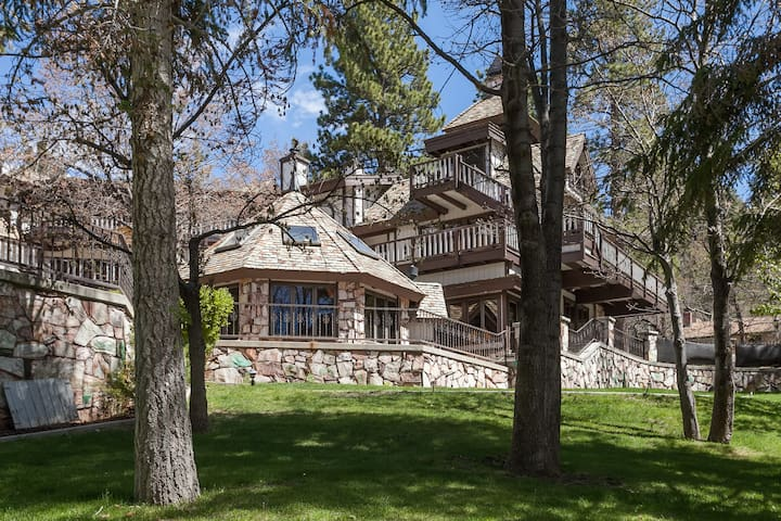 Edgewood Mansion Castle in the Woods