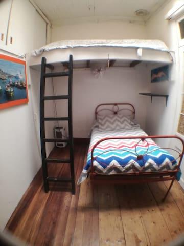Habitación para 2 personas en Valparaíso