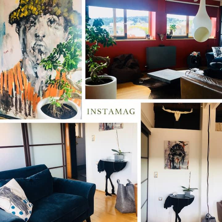 Loue Joli Appartement design Epinal centre ville