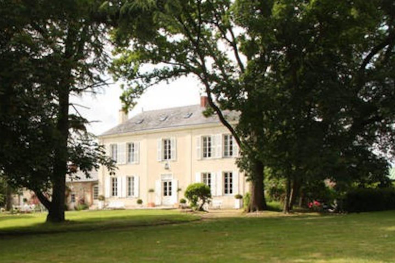 Notre maison depuis le parc