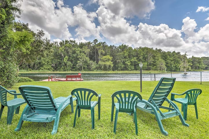 NEW! Riverfront Dunnellon Home w/ Dock & Solarium!