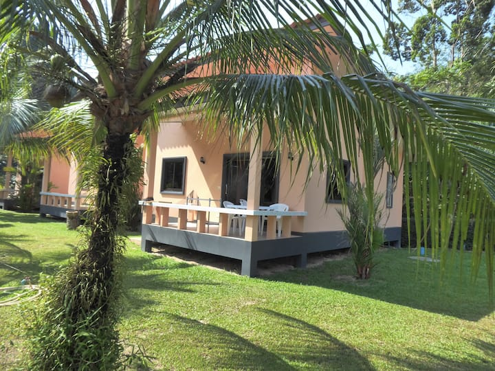 Khao Lak  BMP Bungalow  2 bedroom bungalow  50 m2