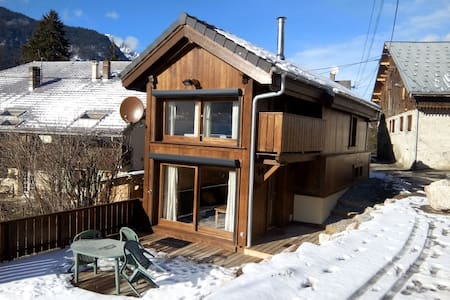 Cosy chalet in wood, near Morzine - Saint-Jean-d'Aulps