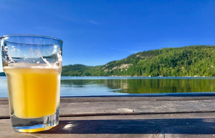 VT Lakeside getaway on beautiful Crystal Lake.