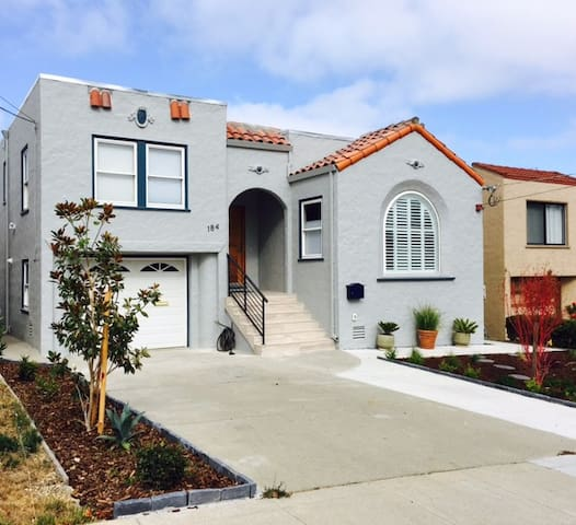 New & modern in-law apartment in Millbrae, CA - Millbrae - Wohnung