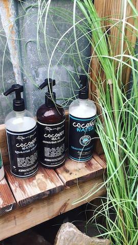 sulfate free, organic coconut s + c