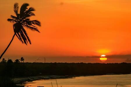 Por do sol encantado