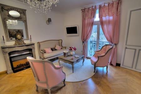 """Suite """"La Belle Epoque"""" - Bagnères-de-Luchon - อพาร์ทเมนท์"""