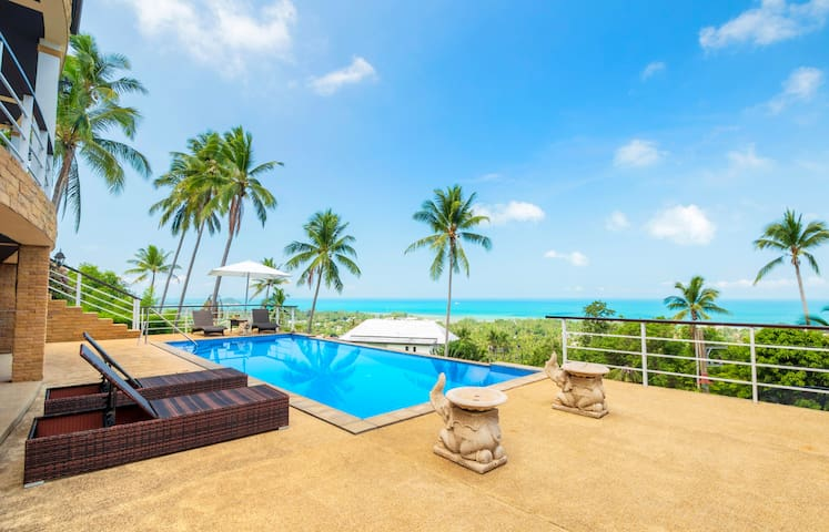 [NEW] VILLA LILIA SAMUI: AMAZING SEAVIEW AND BEST SUNSETS !  OPENING OFFER