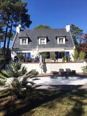 Villa calme piscine chauffée sécurisée Pornichet