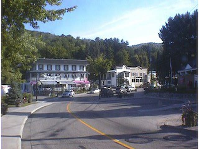Heart of old Mont Tremblant