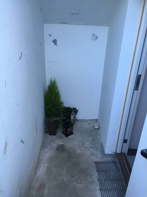 Own entrance.