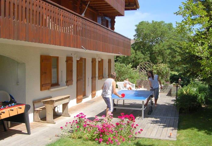 L' En-Champ, gîte rural proche d'Annecy - Montagny-les-Lanches - อพาร์ทเมนท์