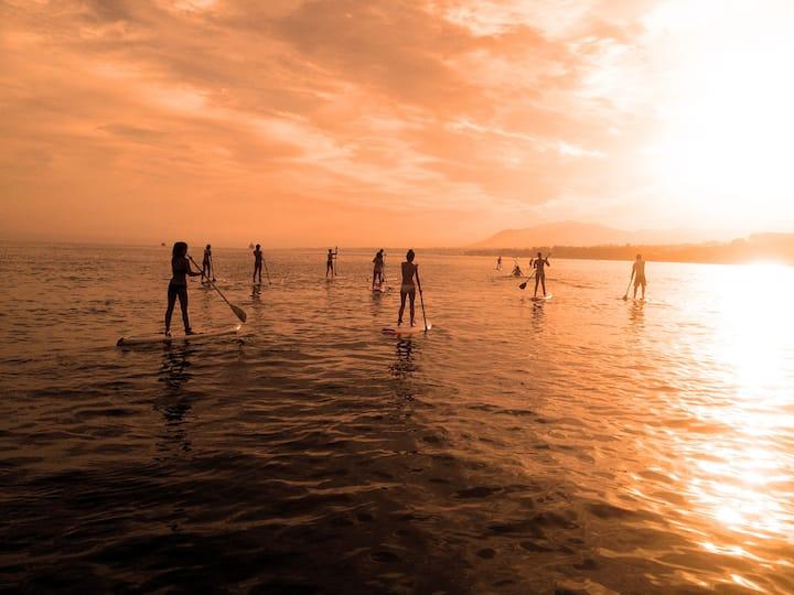 Sunset SUP Tour along the coast