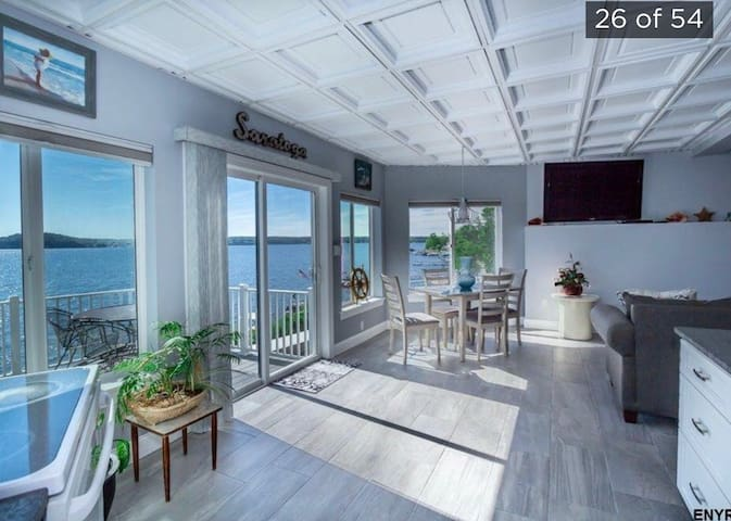 Brand new apartment with Coastal like view
