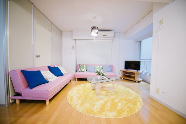 Only 6min to JR Shin-Osaka Station 55㎡ bigroom - Yodogawa-ku,Osaka-shi - Apartment