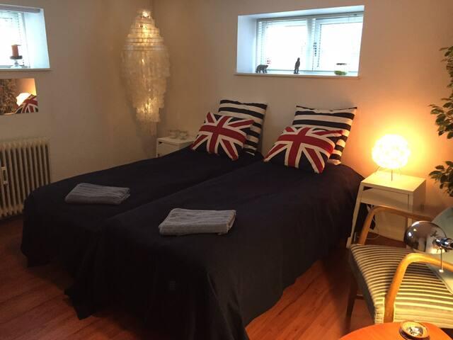 A doubleroom near Aarhus.