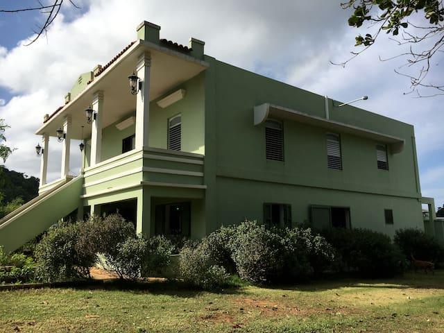 Hatillo's Holistic Homestead Historic Hacienda