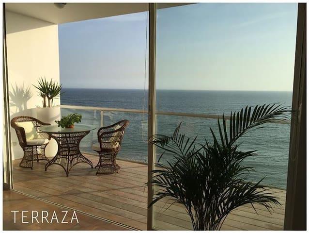 BEACH FLAT OCEAN VIEW PUNTA HERMOSA - Punta Hermosa - Apartment