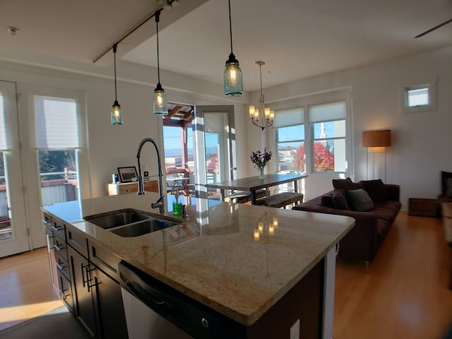 Large 2 bed loft in W. Avl, bring the whole family